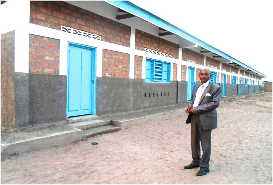 Mpata Mualabala School now provides a wonderful learning environment after being built of durable material