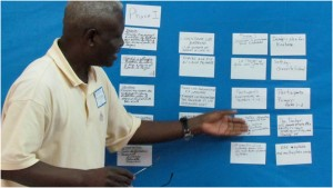 Planning school improvement goals in Kinshasa