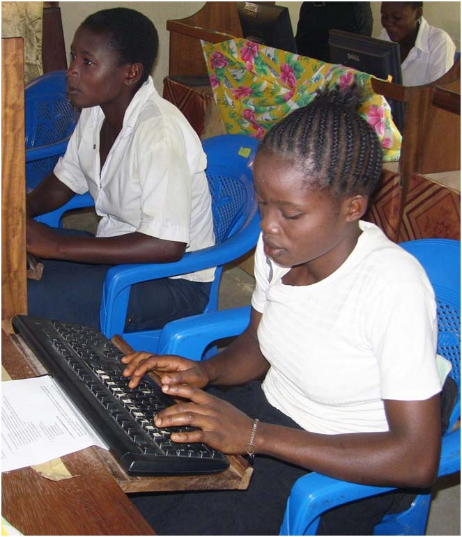 Learning important English and computer skills