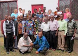 Build Congo Schools planning team in Kananga with U.S. Partners